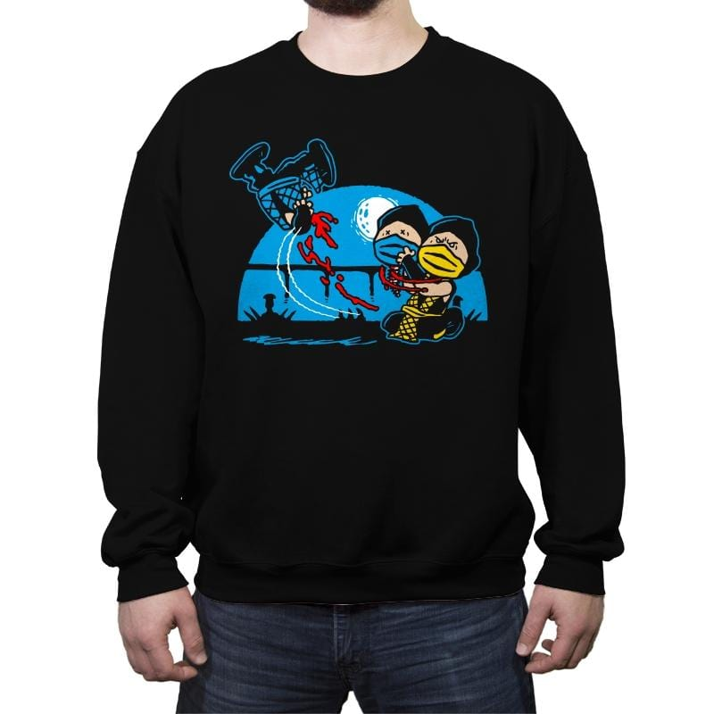 The Fatality Gag - Crew Neck Sweatshirt - Crew Neck Sweatshirt - RIPT Apparel