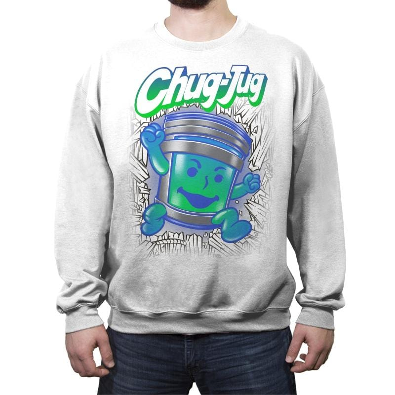 Chug-aid - Crew Neck Sweatshirt - Crew Neck Sweatshirt - RIPT Apparel
