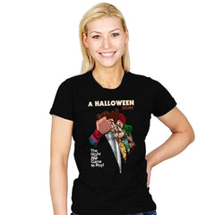 A Halloween Story - Womens - T-Shirts - RIPT Apparel