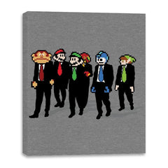 Reservoir Pixels - Canvas Wraps - Canvas Wraps - RIPT Apparel