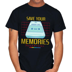 Memorycard - Mens - T-Shirts - RIPT Apparel