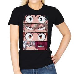 Hero Eyes - Womens - T-Shirts - RIPT Apparel