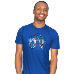 American Beach Volleyball - Mens - T-Shirts - RIPT Apparel