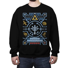 Sheikah - Ugly Holiday - Crew Neck Sweatshirt - Crew Neck Sweatshirt - RIPT Apparel