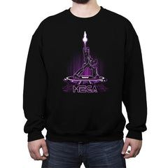 MEGA-TRON Reprint - Crew Neck Sweatshirt - Crew Neck Sweatshirt - RIPT Apparel