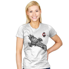Serenity Sumi-E - Sumi Ink Wars - Womens - T-Shirts - RIPT Apparel