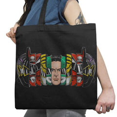 Dr. Tommy's Many Masks Exclusive - Tote Bag - Tote Bag - RIPT Apparel