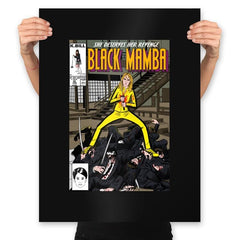 Black Mamba - Prints - Posters - RIPT Apparel