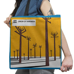 Origin of Darkness - Record Collector - Tote Bag - Tote Bag - RIPT Apparel
