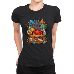 Let's Roll - Womens Premium - T-Shirts - RIPT Apparel