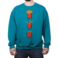 Fry Loss - Crew Neck Sweatshirt - Crew Neck Sweatshirt - RIPT Apparel