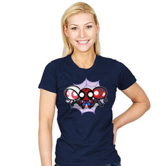 The Powerpuff-Spiders - Womens - T-Shirts - RIPT Apparel