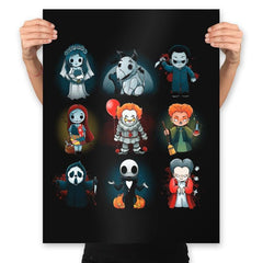 Nerdy Halloween - Prints - Posters - RIPT Apparel