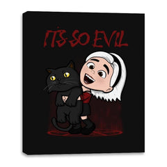 It's So Evil - Canvas Wraps - Canvas Wraps - RIPT Apparel