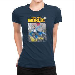 Save the World! Exclusive - Womens Premium - T-Shirts - RIPT Apparel