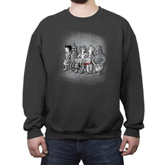 Workers of the future - Crew Neck Sweatshirt - Crew Neck Sweatshirt - RIPT Apparel