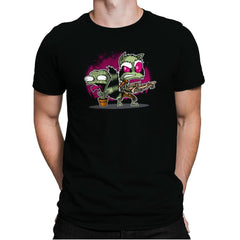 Invaders of the Galaxy Part 1 Exclusive - Awesome Mixtees - Mens Premium - T-Shirts - RIPT Apparel