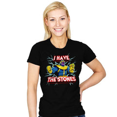 I have the Stones - Womens - T-Shirts - RIPT Apparel