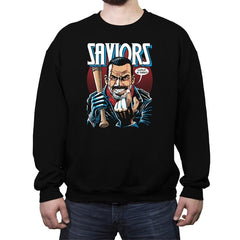 Saviors - Crew Neck Sweatshirt - Crew Neck Sweatshirt - RIPT Apparel