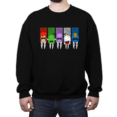 Reservoir Ginyu - Crew Neck Sweatshirt - Crew Neck Sweatshirt - RIPT Apparel