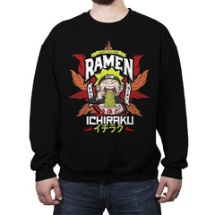 Ninja Ramen - Crew Neck Sweatshirt - Crew Neck Sweatshirt - RIPT Apparel