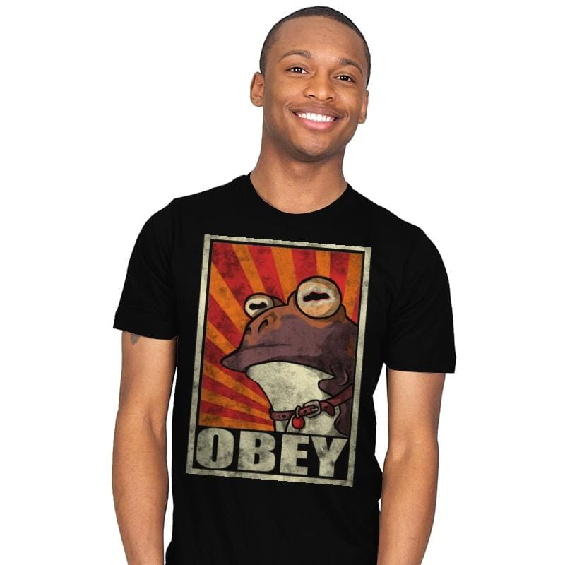 Obey The Hypnotoad! - Best Seller - Mens - T-Shirts - RIPT Apparel