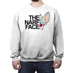 The Narf Face! - Crew Neck Sweatshirt - Crew Neck Sweatshirt - RIPT Apparel