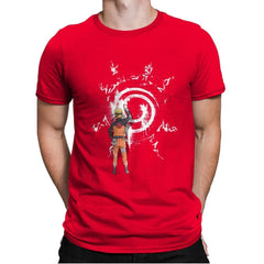 Graff Naruto - Mens Premium - T-Shirts - RIPT Apparel