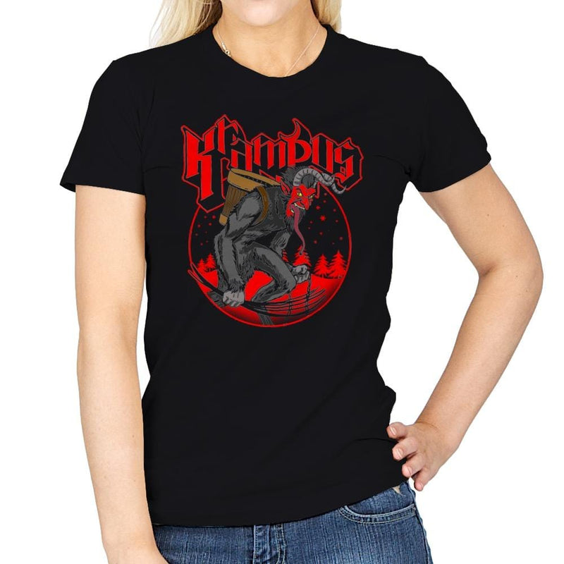 Papa Krampus - Womens - T-Shirts - RIPT Apparel