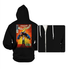 The Amazing All Might - Hoodies - Hoodies - RIPT Apparel