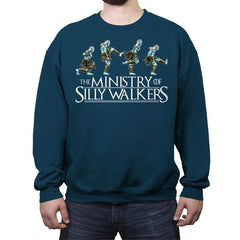 Silly Walkers - Crew Neck Sweatshirt - Crew Neck Sweatshirt - RIPT Apparel