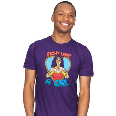 Fight Like A Woman Exclusive - Mens - T-Shirts - RIPT Apparel