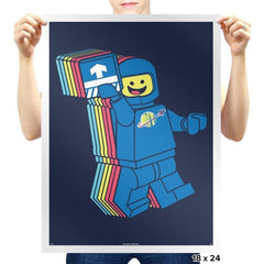 SPACESHIPALICIOUS Exclusive - Brick Tees - Prints - Posters - RIPT Apparel