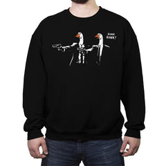 Goose Fiction - Crew Neck Sweatshirt - Crew Neck Sweatshirt - RIPT Apparel