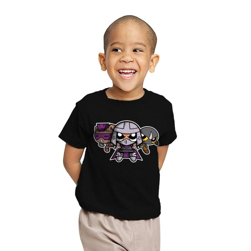 The Powerpuff Foot - Youth - T-Shirts - RIPT Apparel