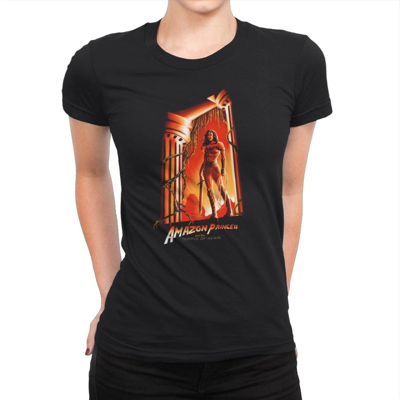 The Temple of Herra Exclusive - Wonderful Justice - Womens Premium - T-Shirts - RIPT Apparel