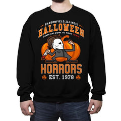 Halloween Horrors - Crew Neck Sweatshirt - Crew Neck Sweatshirt - RIPT Apparel