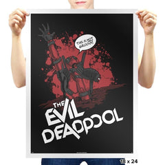 The Evil Mercenary Exclusive - Prints - Posters - RIPT Apparel