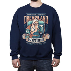 Dreamland Draft - Crew Neck Sweatshirt - Crew Neck Sweatshirt - RIPT Apparel