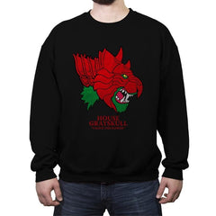 House of Grayskull - Crew Neck Sweatshirt - Crew Neck Sweatshirt - RIPT Apparel