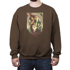 Gravity Poetry - Crew Neck Sweatshirt - Crew Neck Sweatshirt - RIPT Apparel