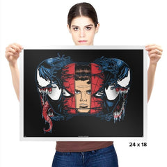 Spiders and Symbiotes - Prints - Posters - RIPT Apparel