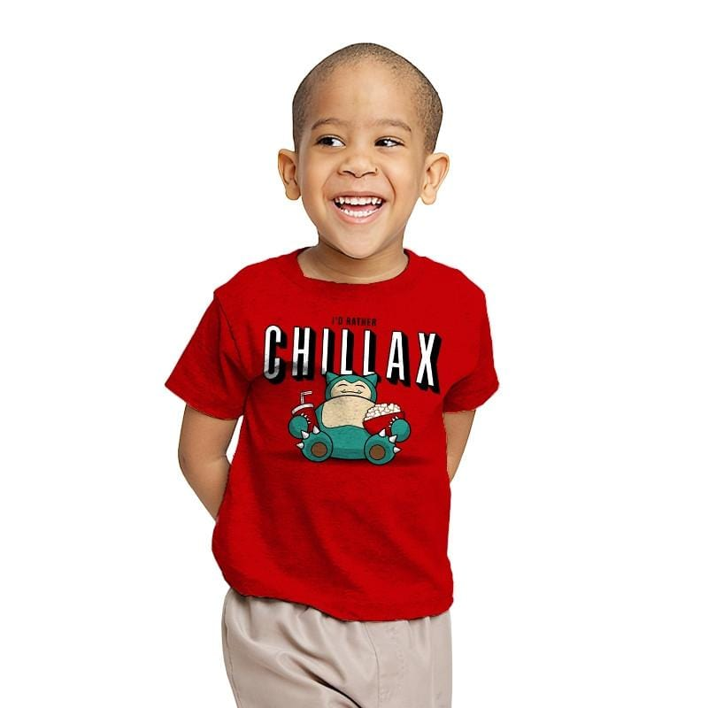 Chillax like a... - Youth - T-Shirts - RIPT Apparel