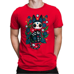 Calavera Witched Cat - Mens Premium - T-Shirts - RIPT Apparel