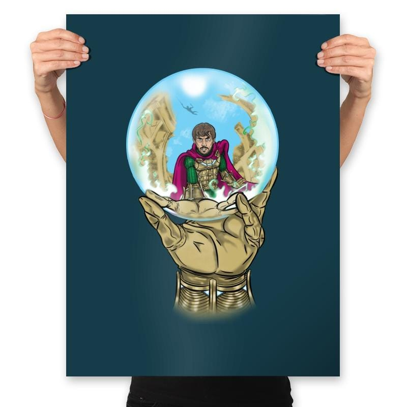 Mysterio Escher - Prints - Posters - RIPT Apparel