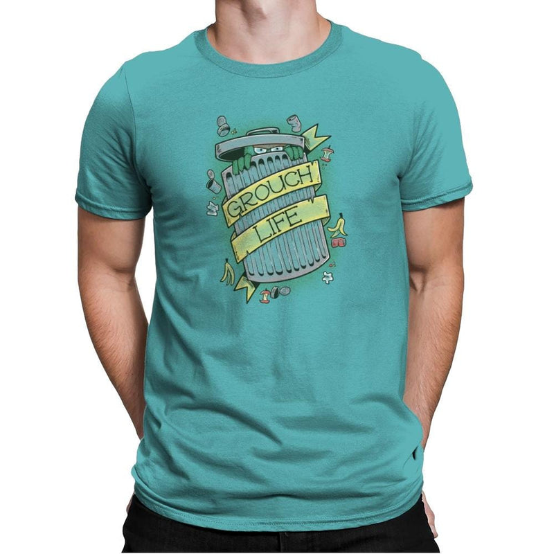 Grouch Life Exclusive - Mens Premium - T-Shirts - RIPT Apparel