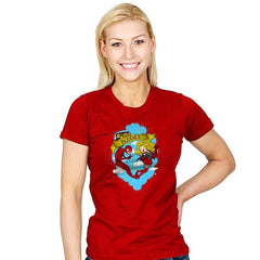 Super Buddies - Womens - T-Shirts - RIPT Apparel