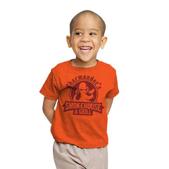 Charmander's Smokehouse & Grill - Youth - T-Shirts - RIPT Apparel