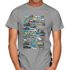 Famous Cars - Anytime - Mens - T-Shirts - RIPT Apparel