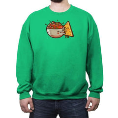 Love Restaurant Style - Crew Neck Sweatshirt - Crew Neck Sweatshirt - RIPT Apparel